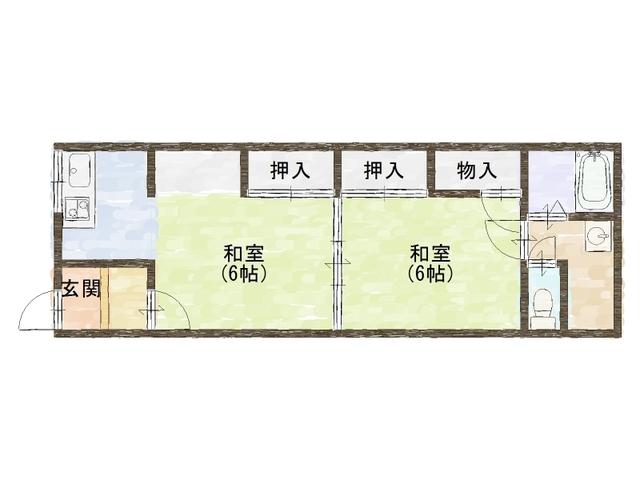 山川荘 1階
